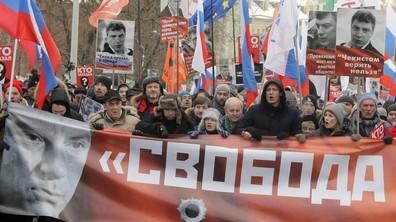 В Москва се проведе шествие в памет на Борис Немцов