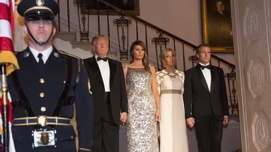 Тръмп и съпругата му посрещнаха френската президентска двойка