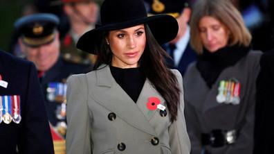 Меган Маркъл показа кралски стил на възпоменателна церемония