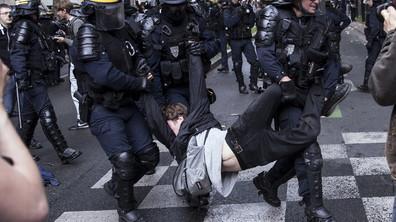 Сблъсъци по време на протест в Париж