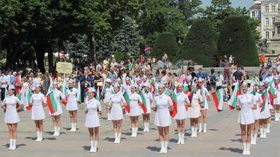 Празнично шествие в Русе