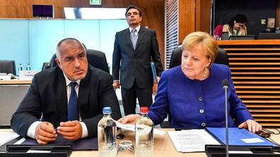 Европейските лидери на среща за миграцията в Брюксел