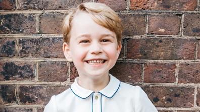 Принц Джордж стана на 5 г.