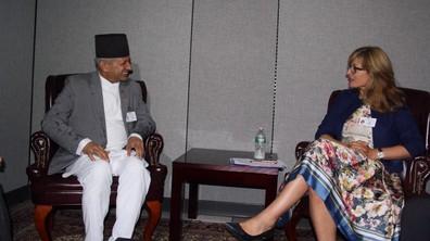 Захариева се срещна с първите дипломати на Афганистан, Катар и Непал