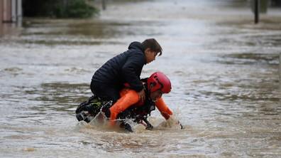 Южна Франция под вода