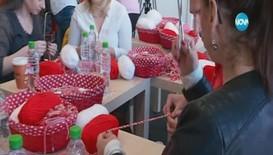 Лицата на Нова и доброволци с увреден слух се включиха в работилница за мартеници