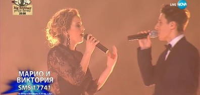 Марио Николов и Виктория Ангелова - Without You - X Factor Live