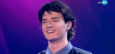 Теодор Стоянов - Сбогом моя любов - X Factor Live